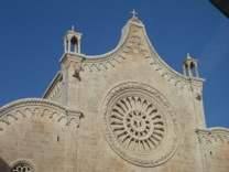 Ostuni's cathedral